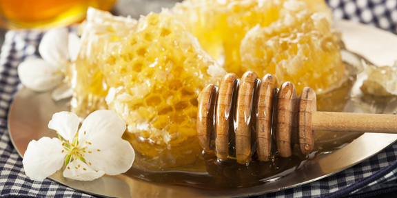 Organic Raw Golden Honey Comb for Sale
