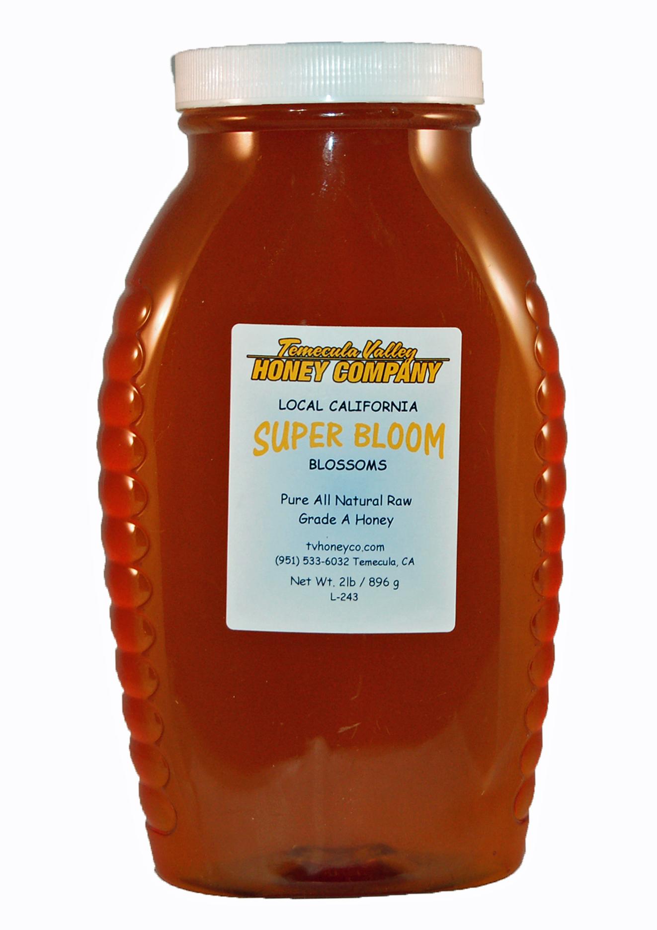 Raw Local Honey – Super Bloom